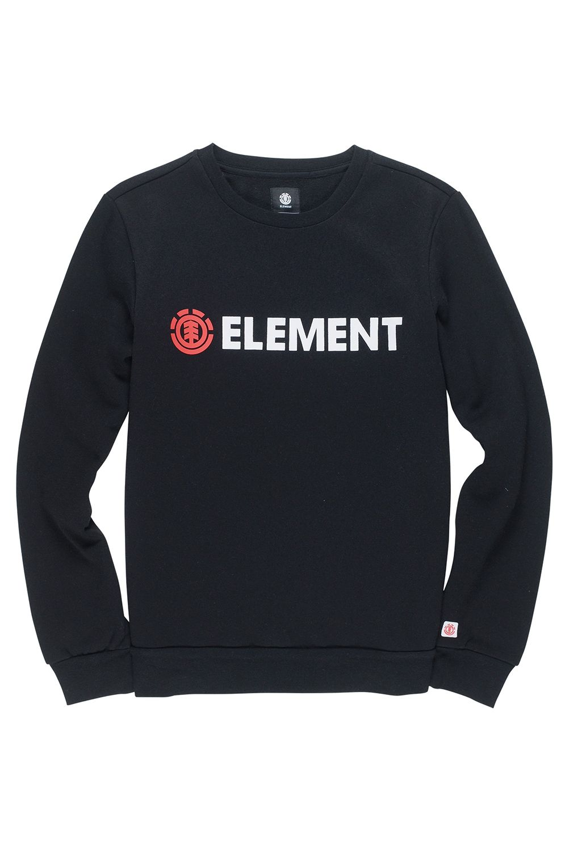 Sweat Basica Element BLAZIN CREW Flint Black