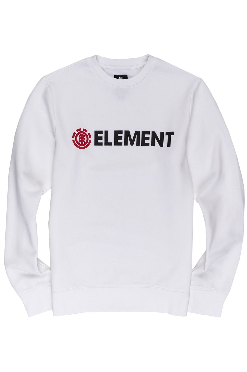 Sweat Basica Element BLAZIN CREW Optic White