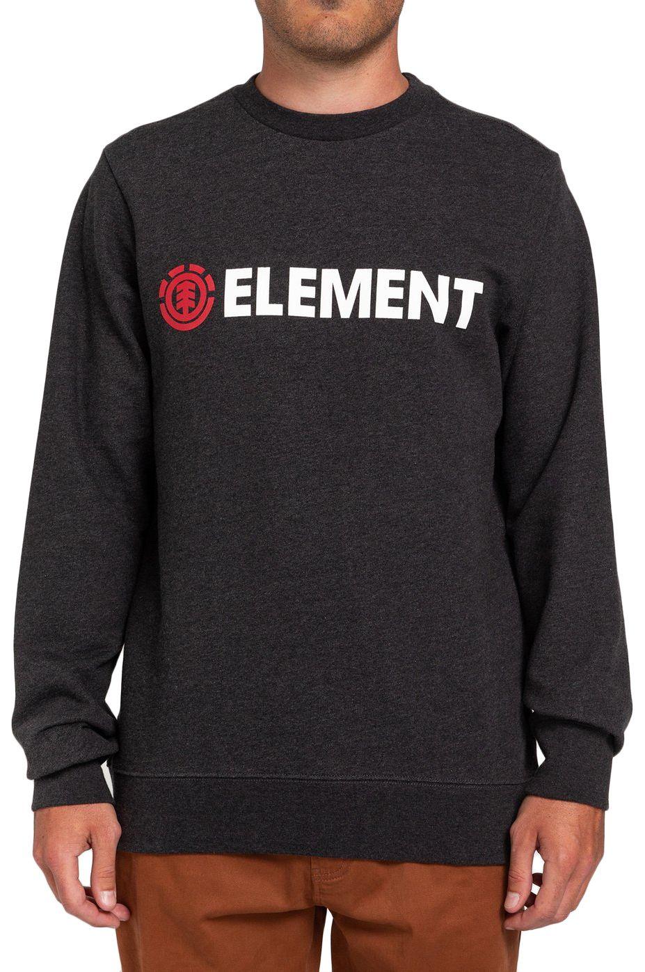 Element Crew Sweat BLAZIN CR Charcoal Heather