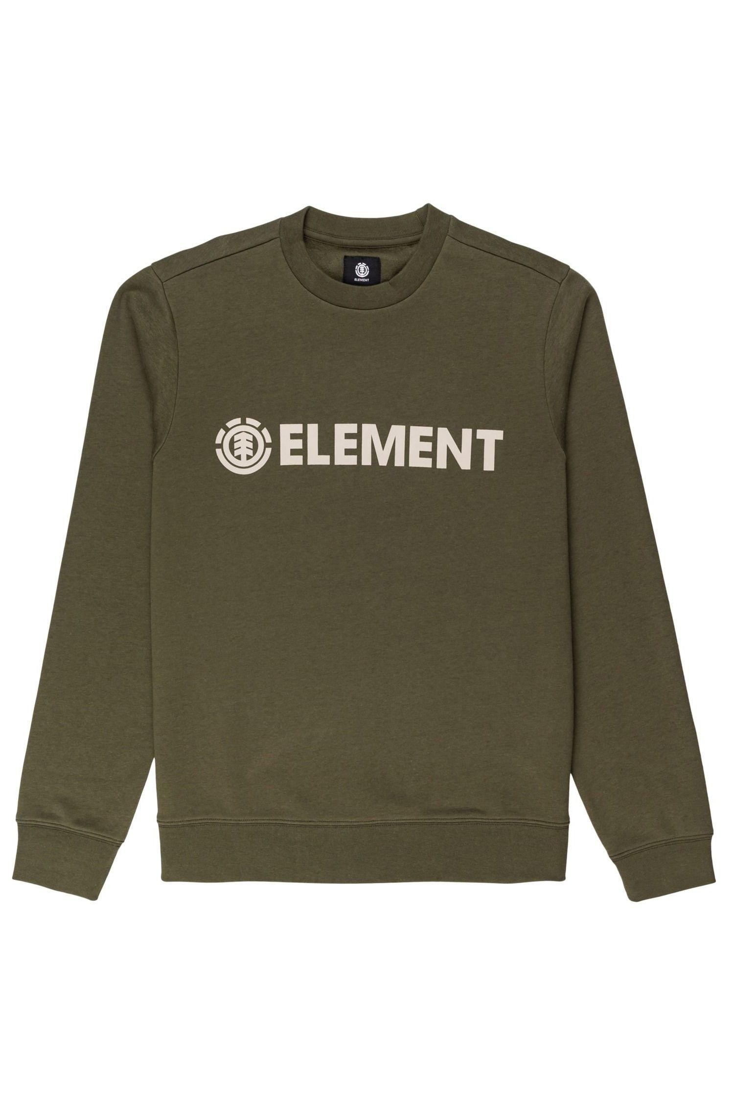Element Crew Sweat BLAZIN CREW Army