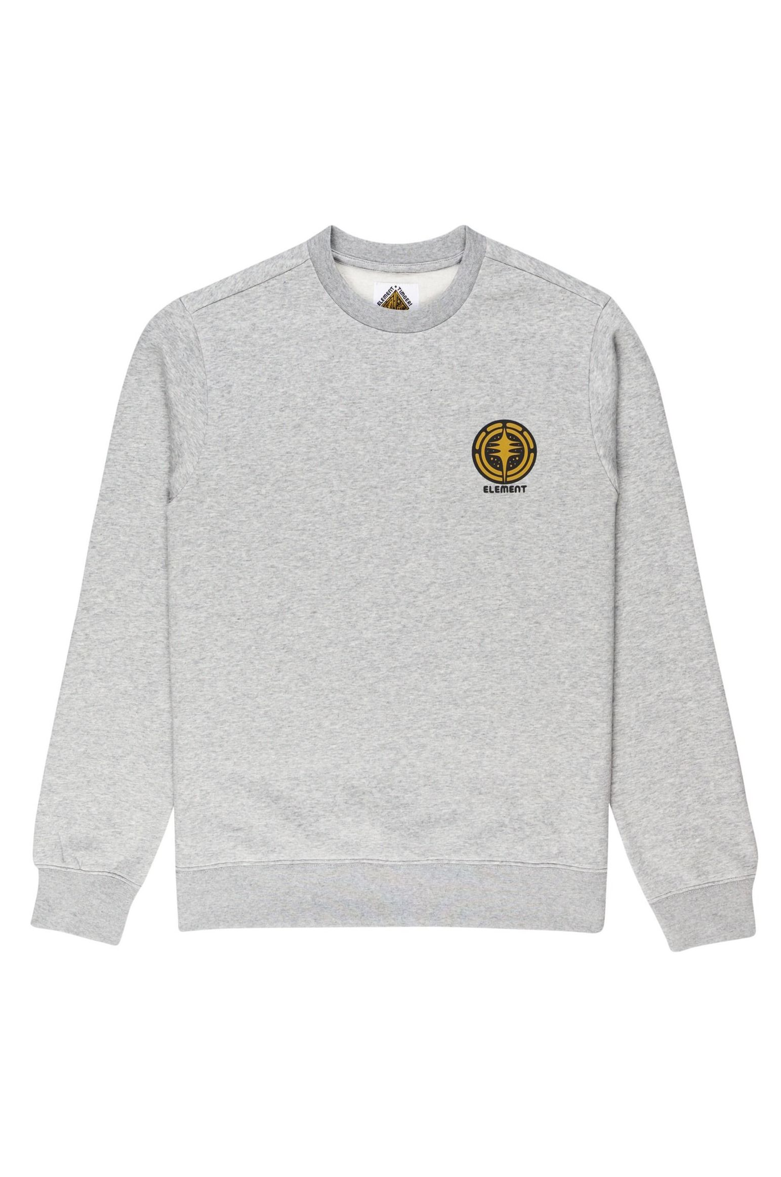 Element Crew Sweat ROTATION CREW TIMBER COLLECTION Grey Heather