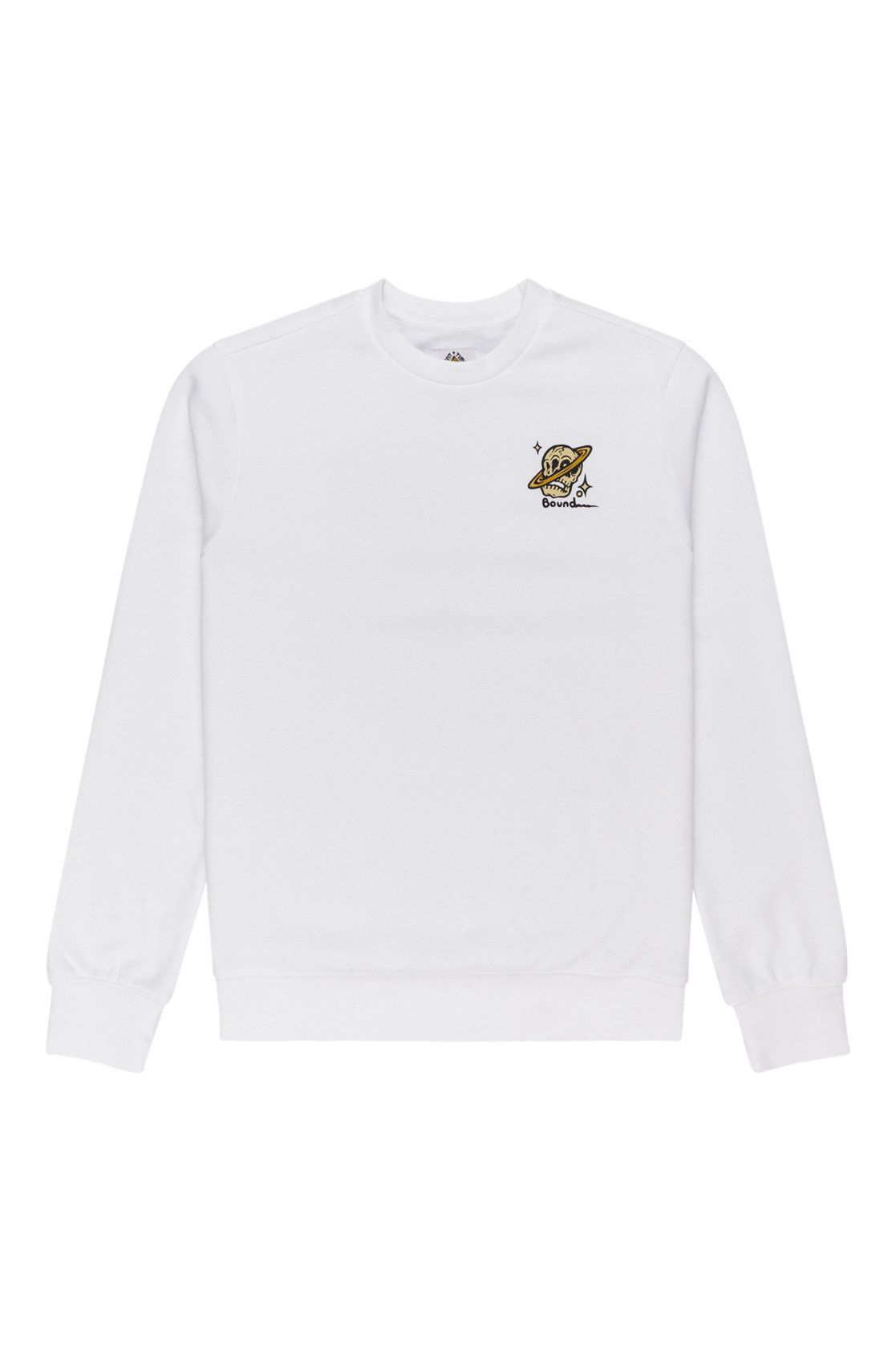Element Crew Sweat TRANSENDER CREW TIMBER COLLECTION Optic White