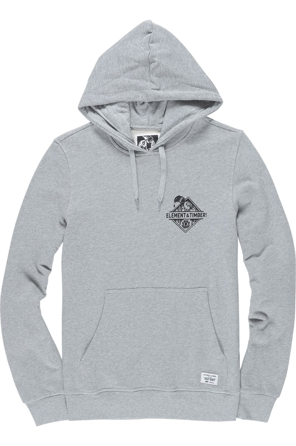 9e826b960bf69 Sweat Capuz Element ROLLING TIMBER COLLECTION Grey Heather