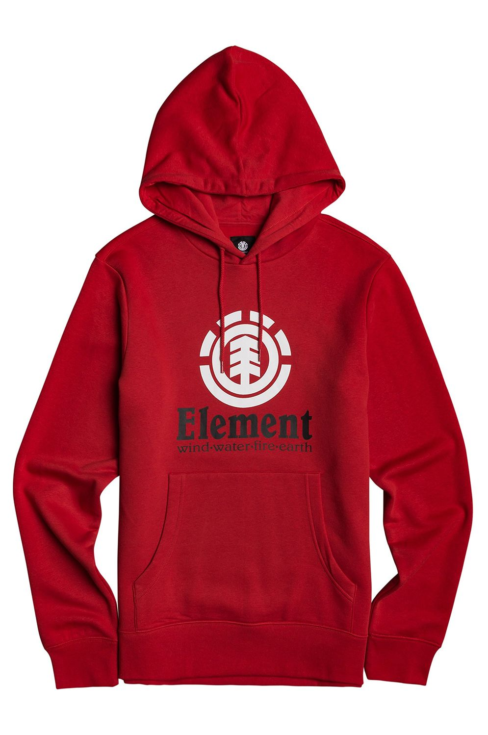 Sweat Capuz Element VERTICAL HOOD Fire Red