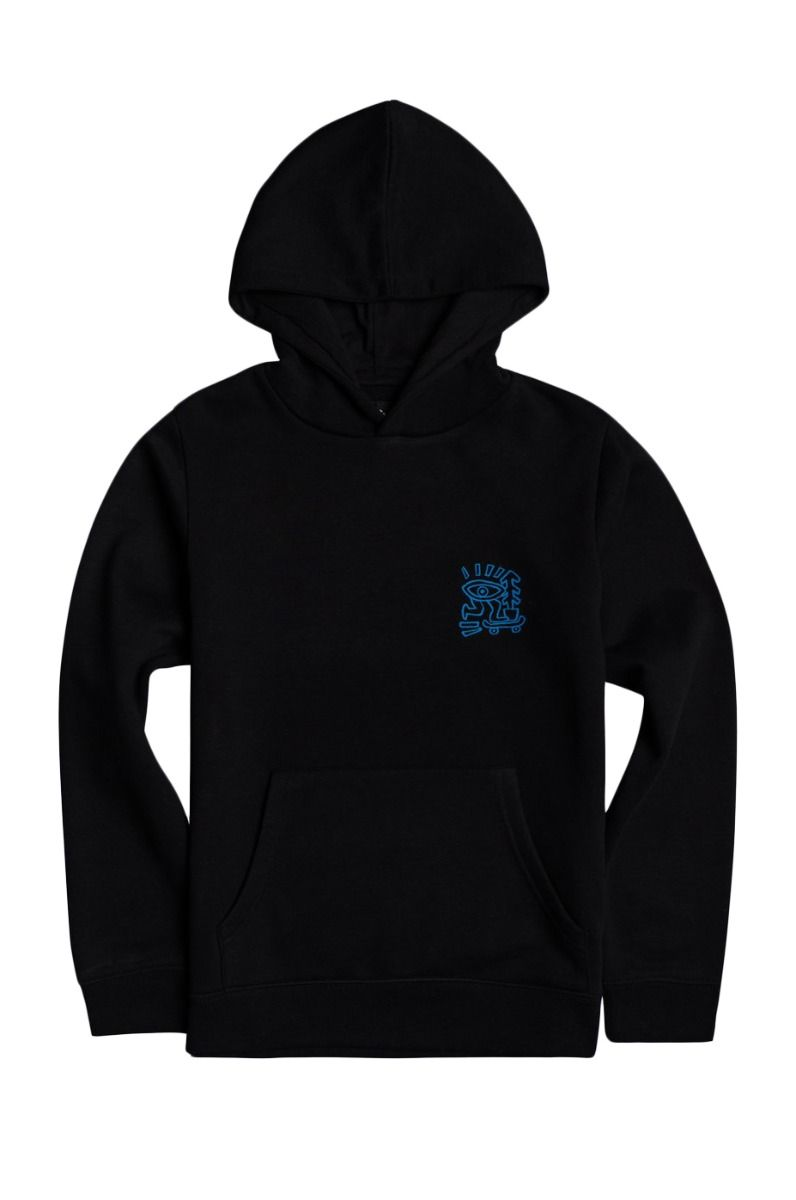 Sweat Capuz Element LARIMER HOOD Flint Black
