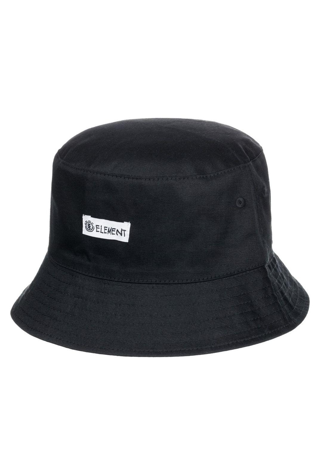 Element Cap SHROOMS BUCKET HAT SHROOMS PACK Flint Black