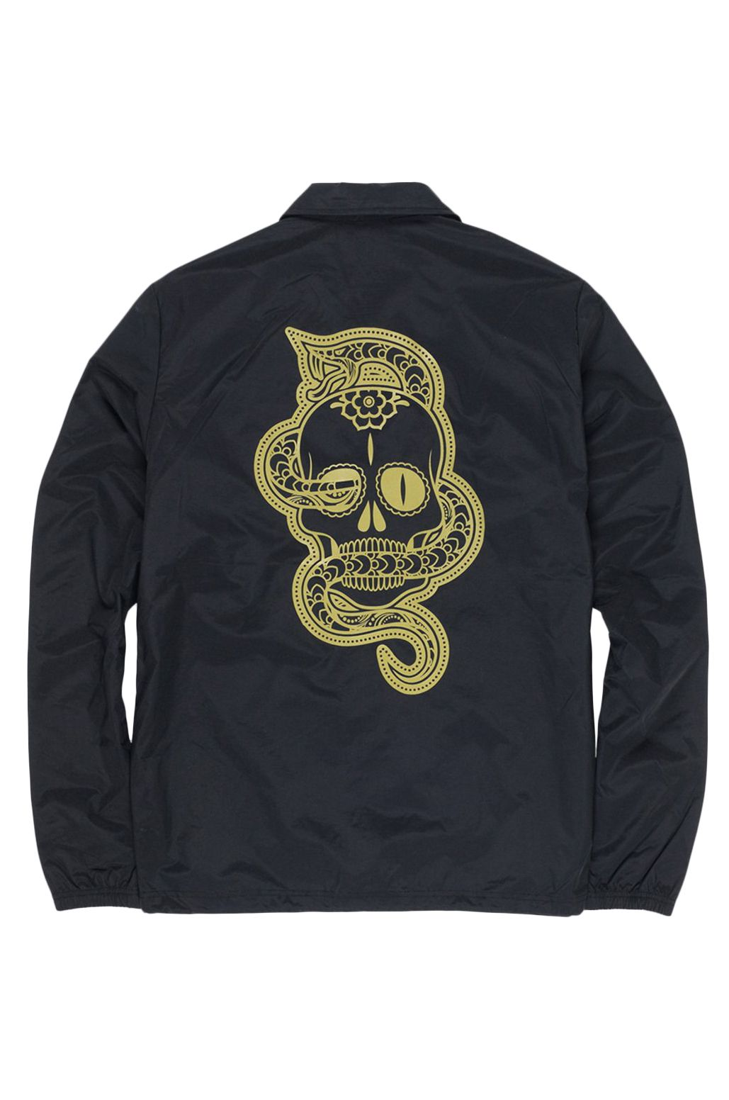 Element Jacket ABYSS COACH DAY OF THE DEAD Flint Black