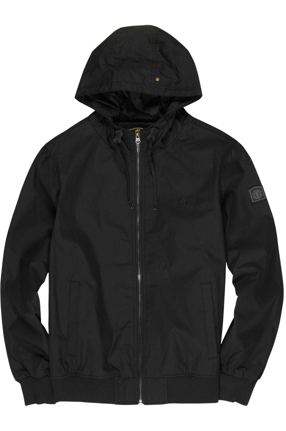 Element Jacket DULCEY LIGHT WOLFEBORO Flint Black