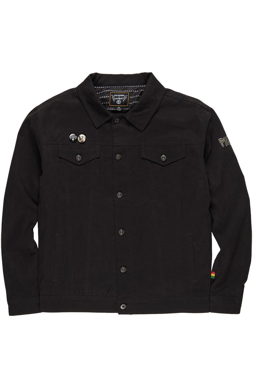 Element Jacket BRAINSTORM BAD BRAINS Flint Black