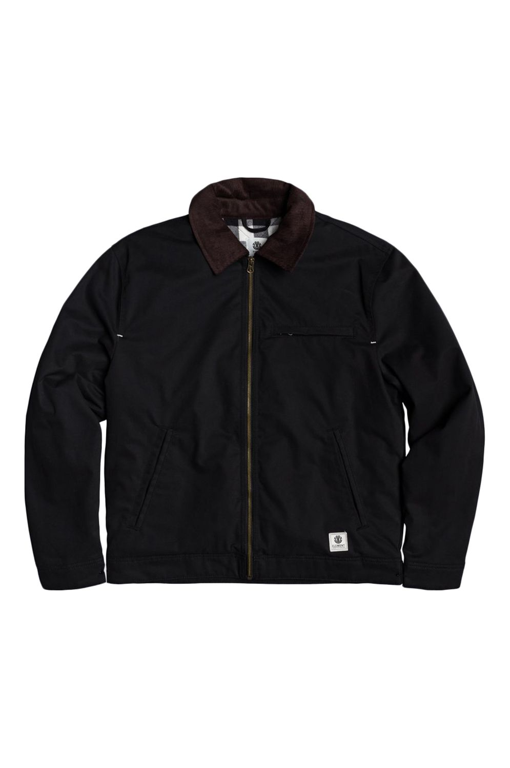 Blusão Element CRAFTMAN ZIP WOLFEBORO Flint Black