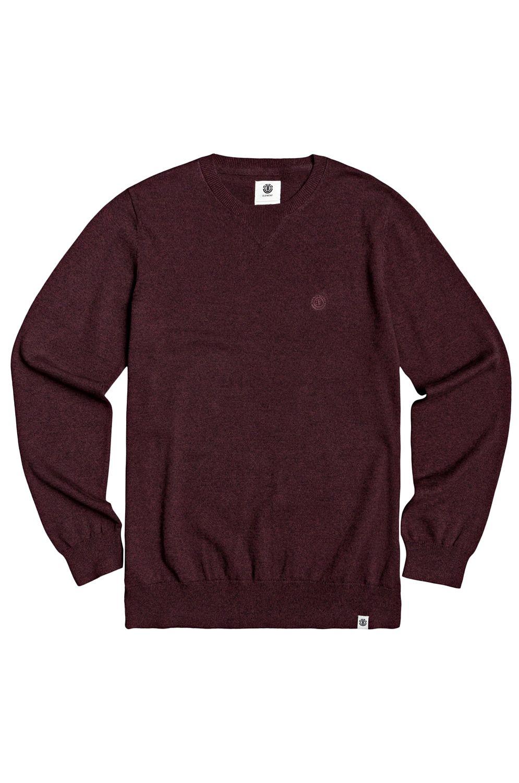 Camisola Element CREW Vintage Red