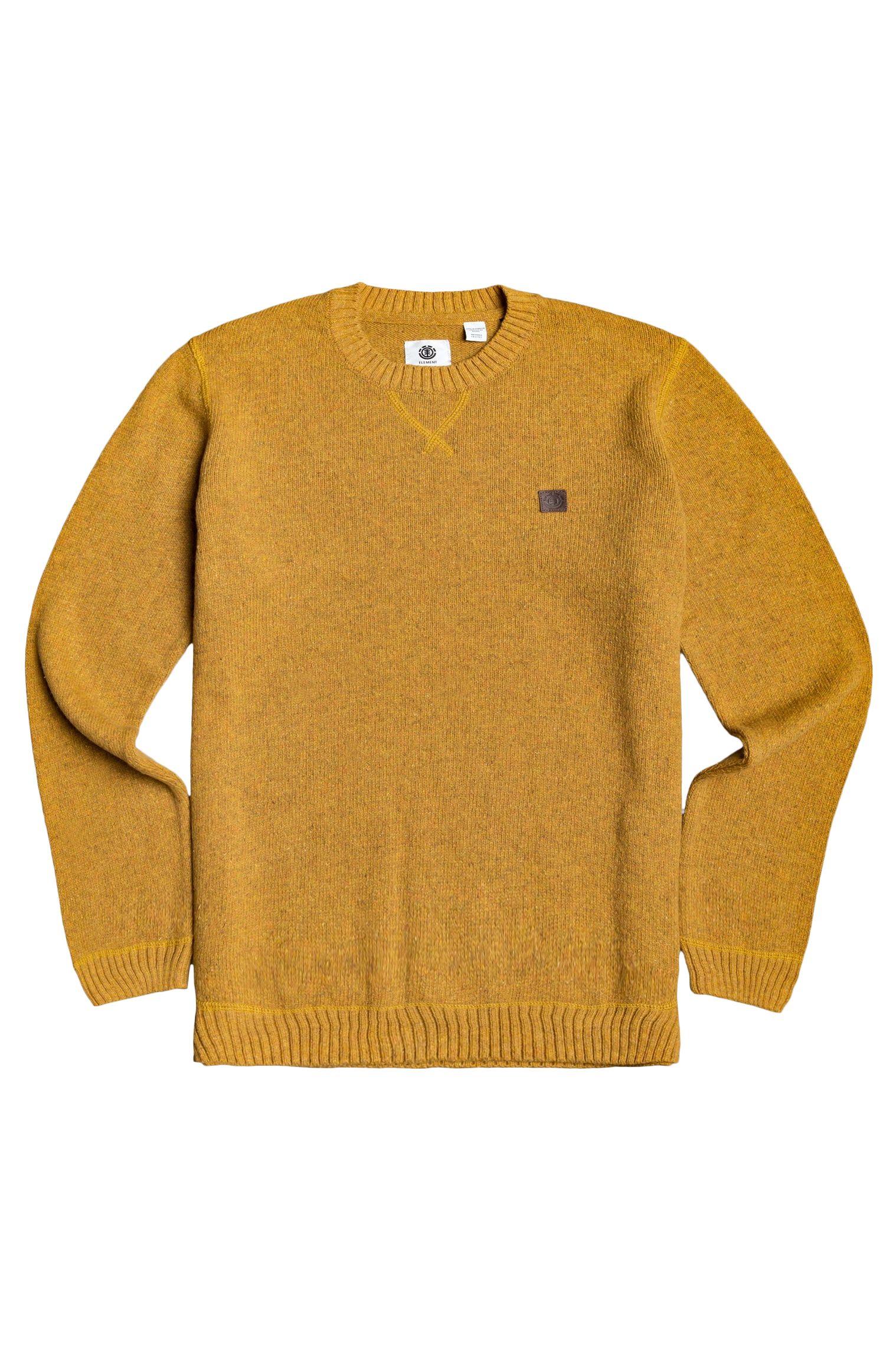 Element Sweater KAYDEN Old Gold