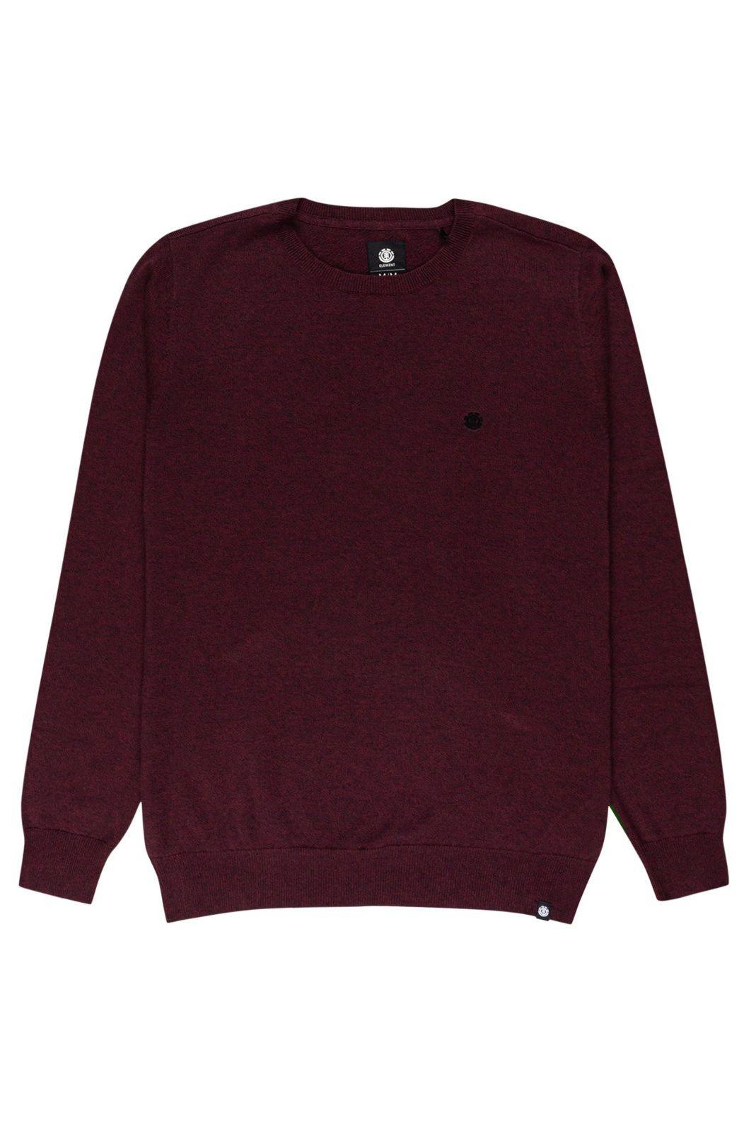 Element Sweater CREW Vintage Red