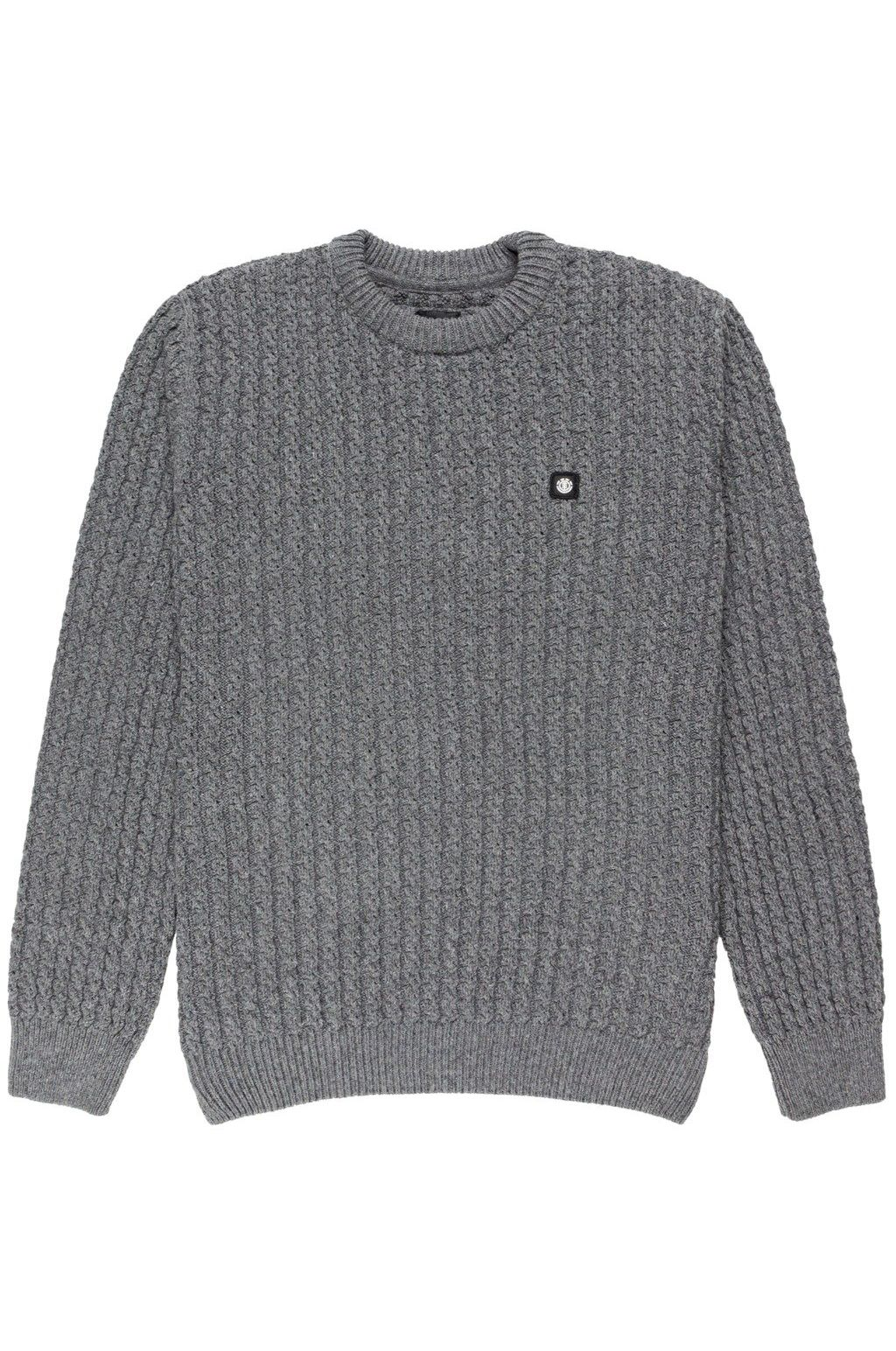 Element Sweater MARVIK CREW Grey Heather