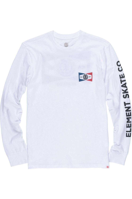 L-Sleeve Element SEGMENT Optic White