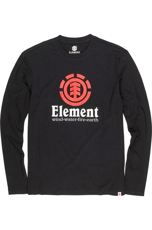 Element L-Sleeve VERTICAL LS Flint Black