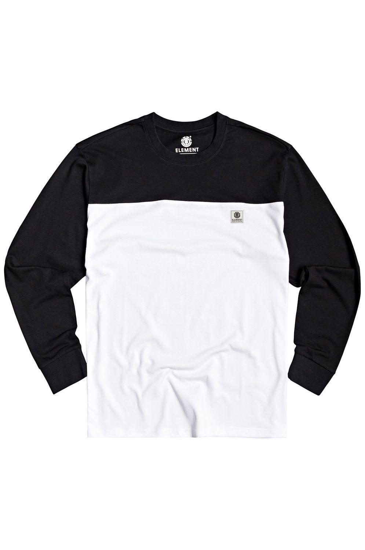 L-Sleeve Element BASIC BASEBALL LS Flint Black