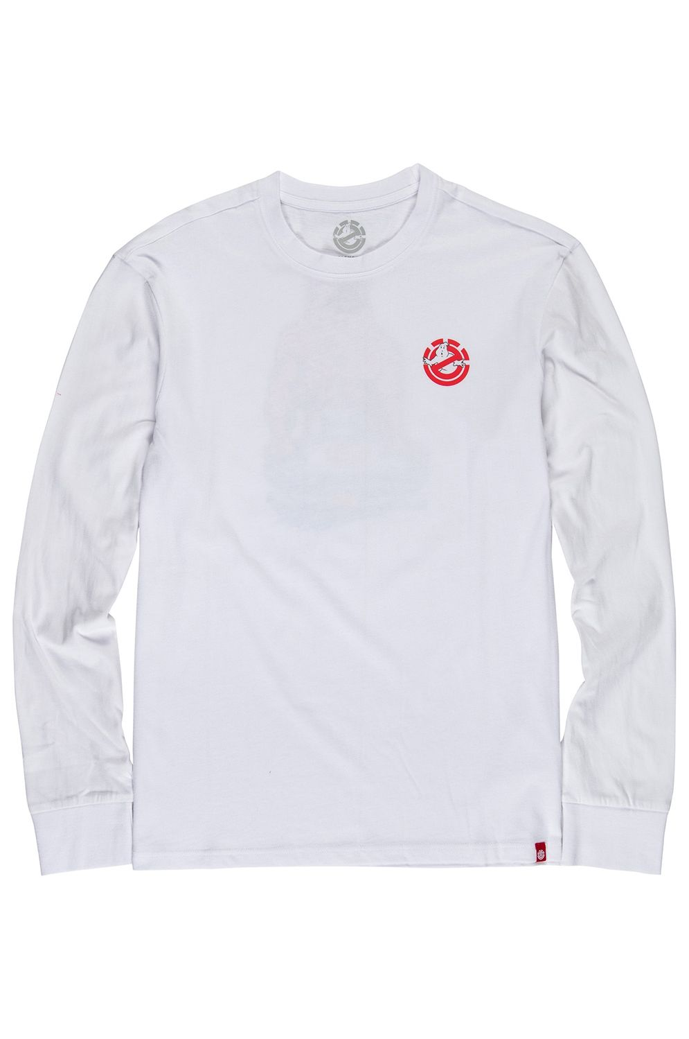 L-Sleeve Element CRUSHED GHOSTBUSTERS Optic White