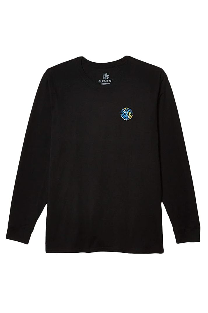 Element L-Sleeve SEAL PLANET LS POWER TO THE PLANET Flint Black