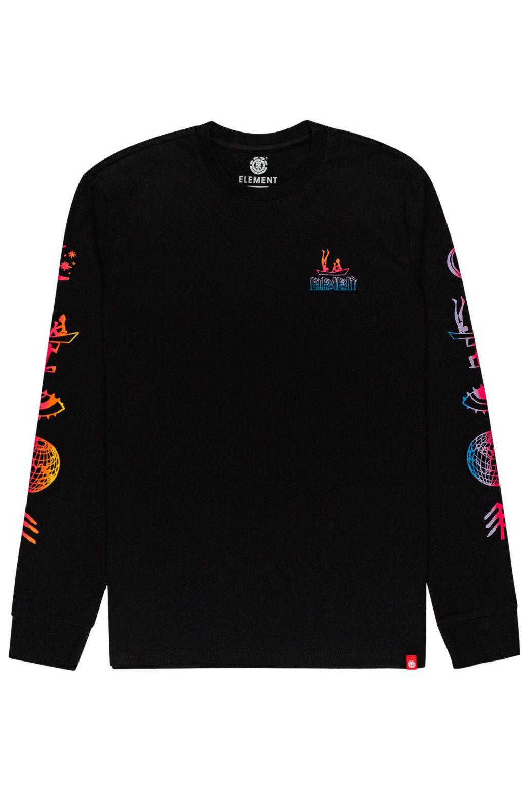 L-Sleeve Element CABEZA LS Flint Black