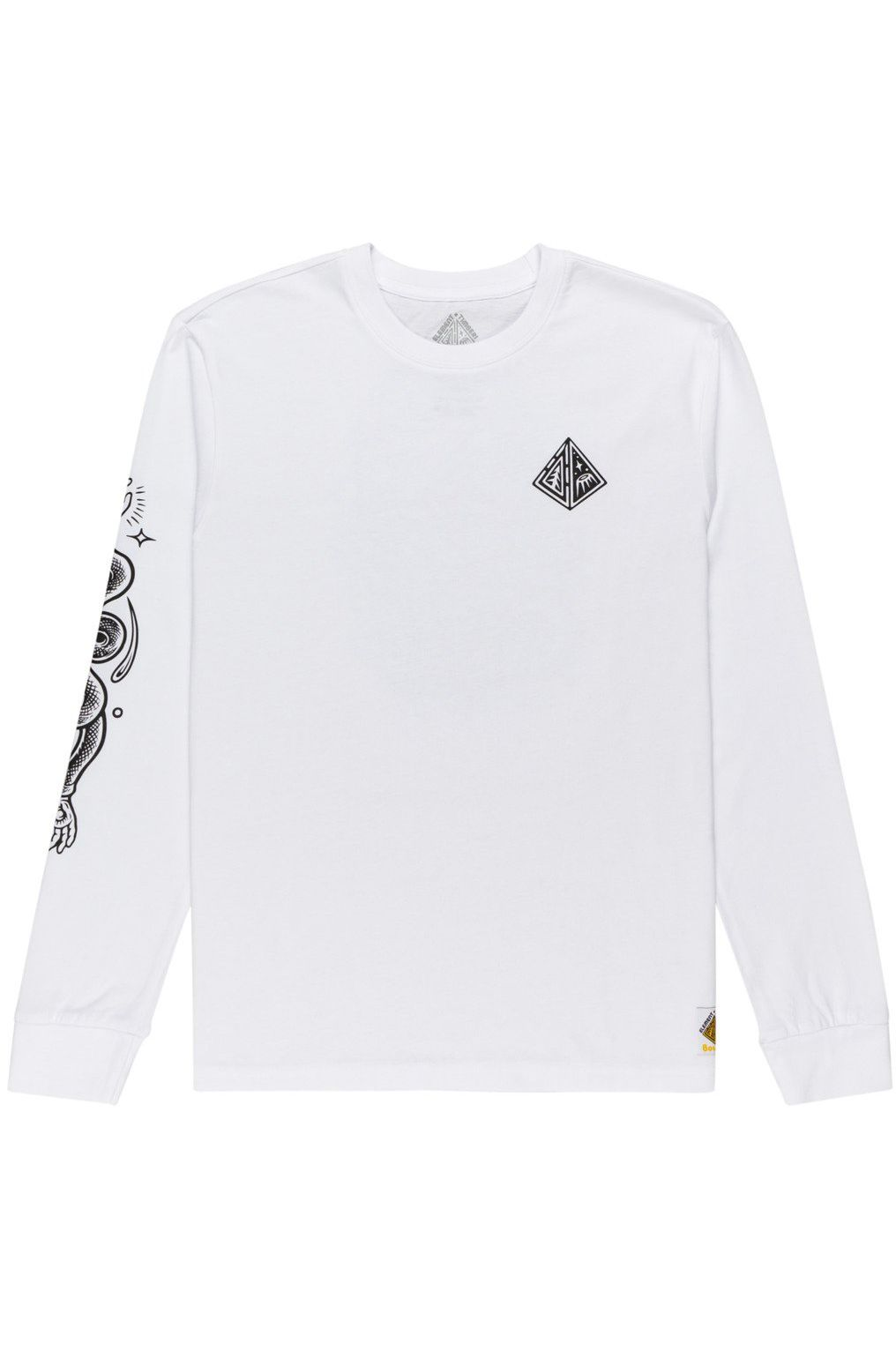 Element L-Sleeve ACCEPTANCE LS TIMBER COLLECTION Optic White