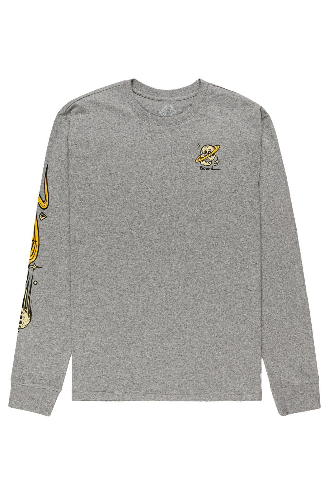 Element L-Sleeve TRANSENDER LS TIMBER COLLECTION Grey Heather