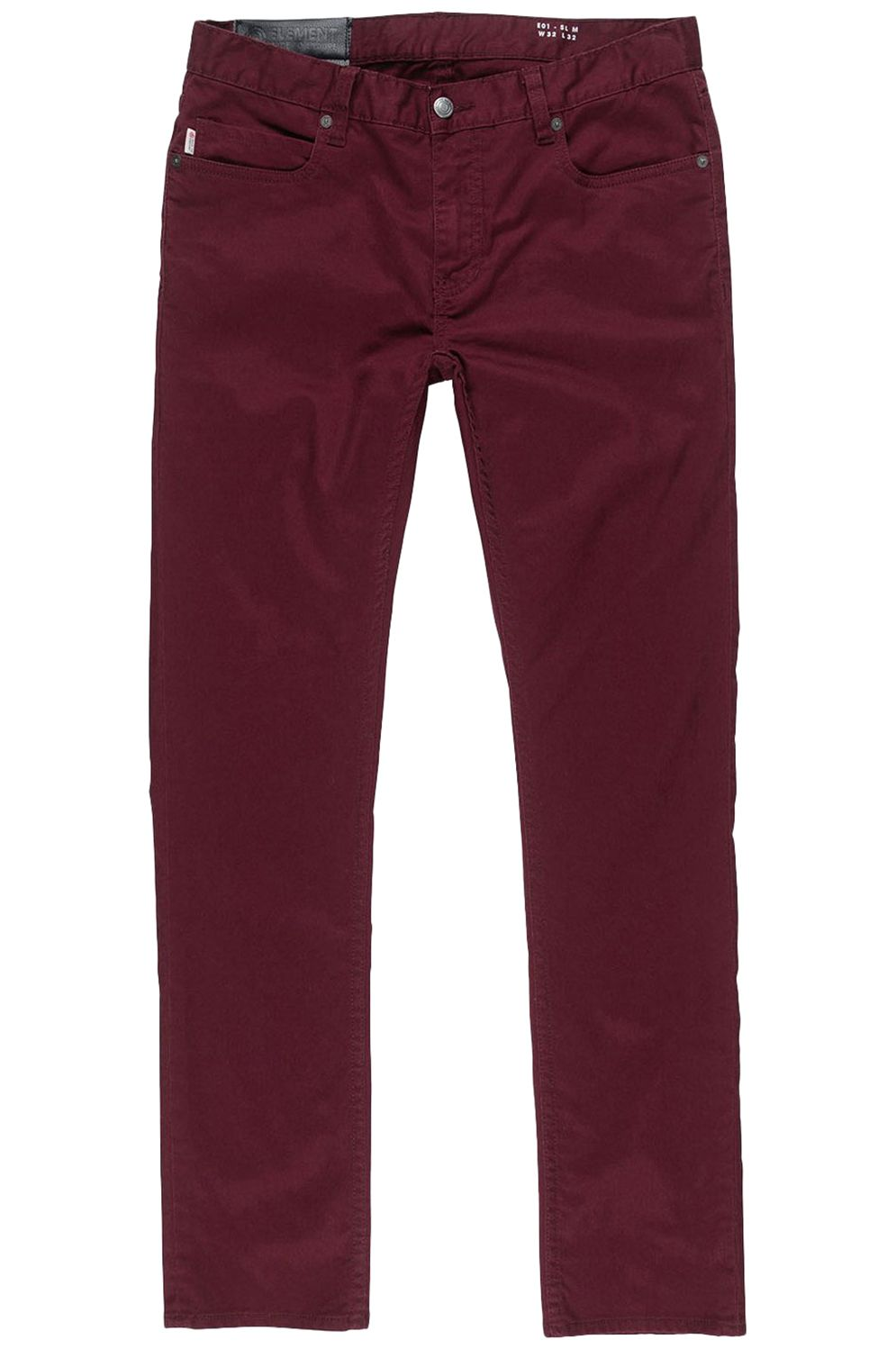 Element Pants E01 COLOR Napa Red