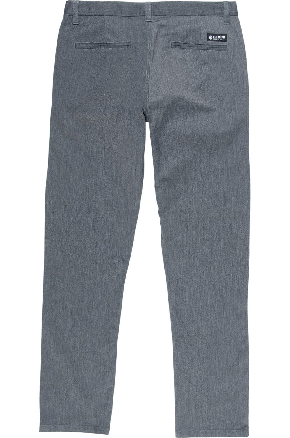 Element Pants HOWLAND CLASSIC CHINO Charcoal Heather