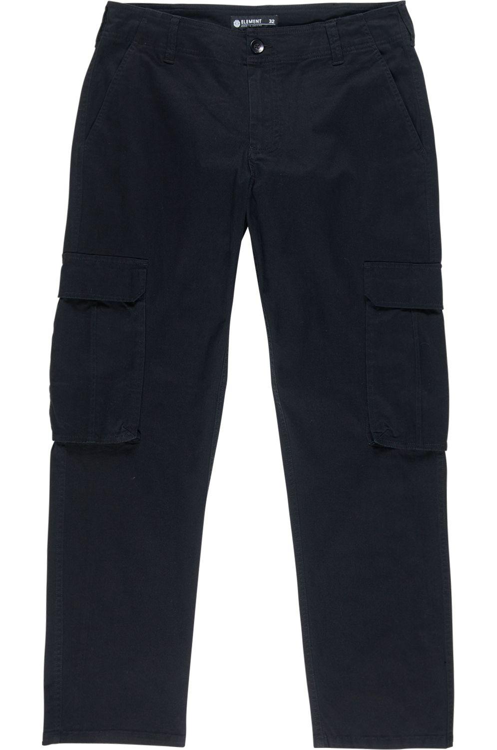 Element Pants FORT CARGO Flint Black