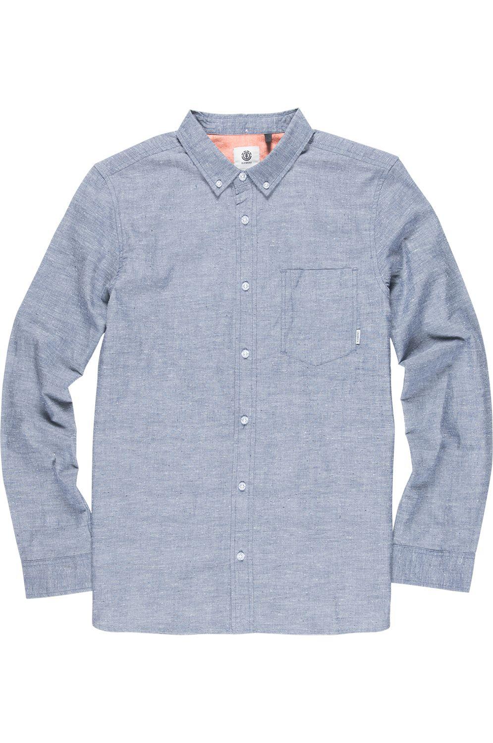 Camisa Element GREENE NEPS LS FOUNDATION Navy