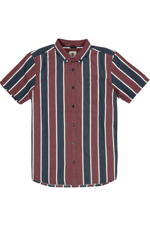 Camisa Element ICON STRIPES SS Indigo Stripe