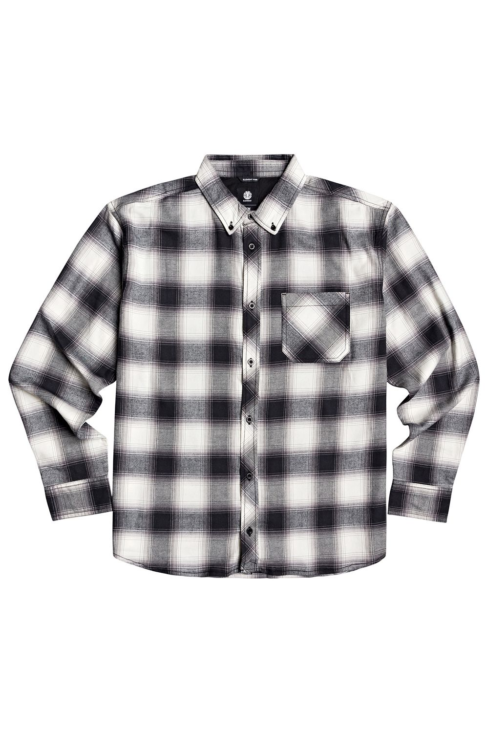 Element Shirt LUMBER Black