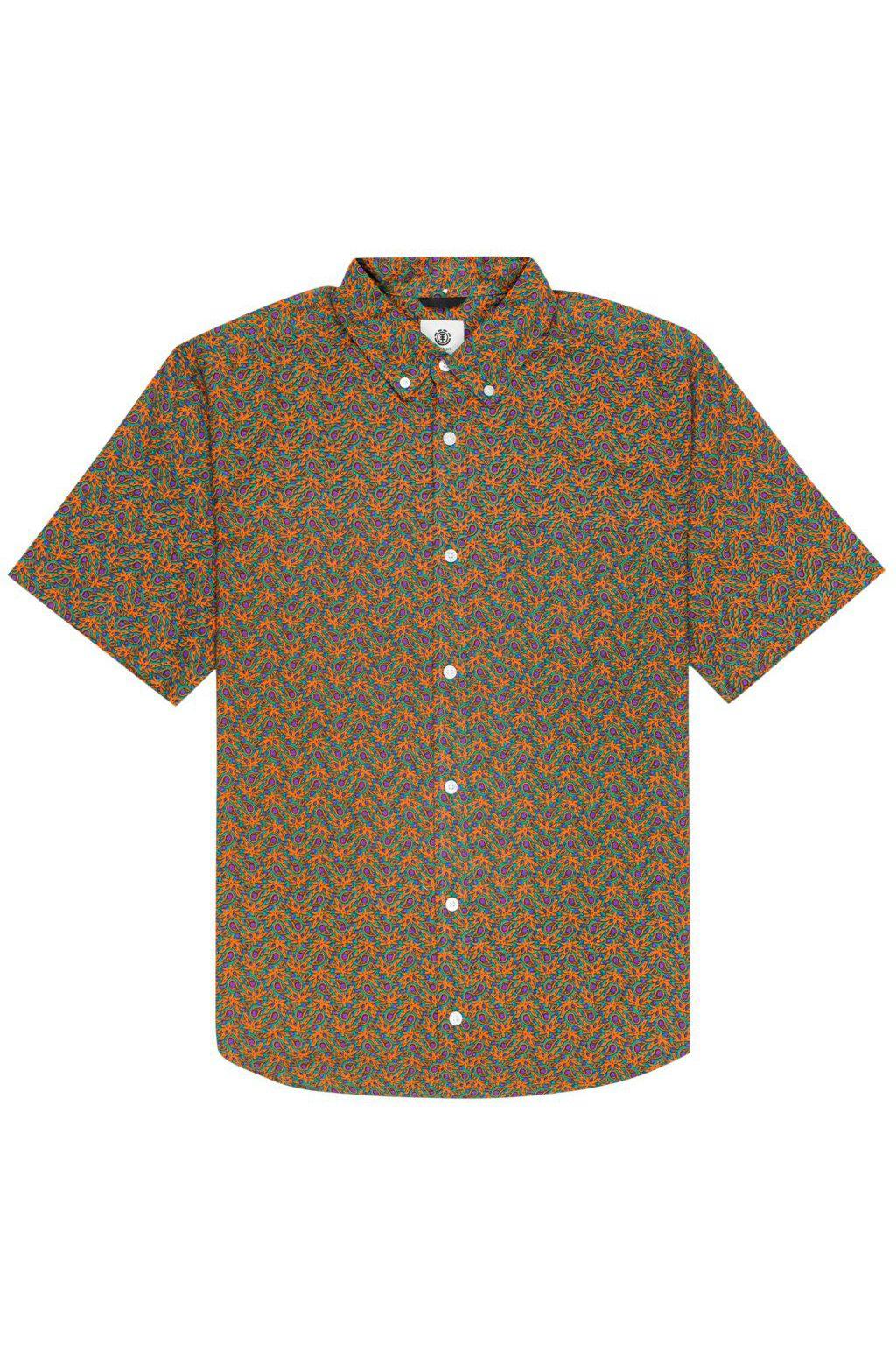 Camisa Element GLASTONBURY SS Green Maple