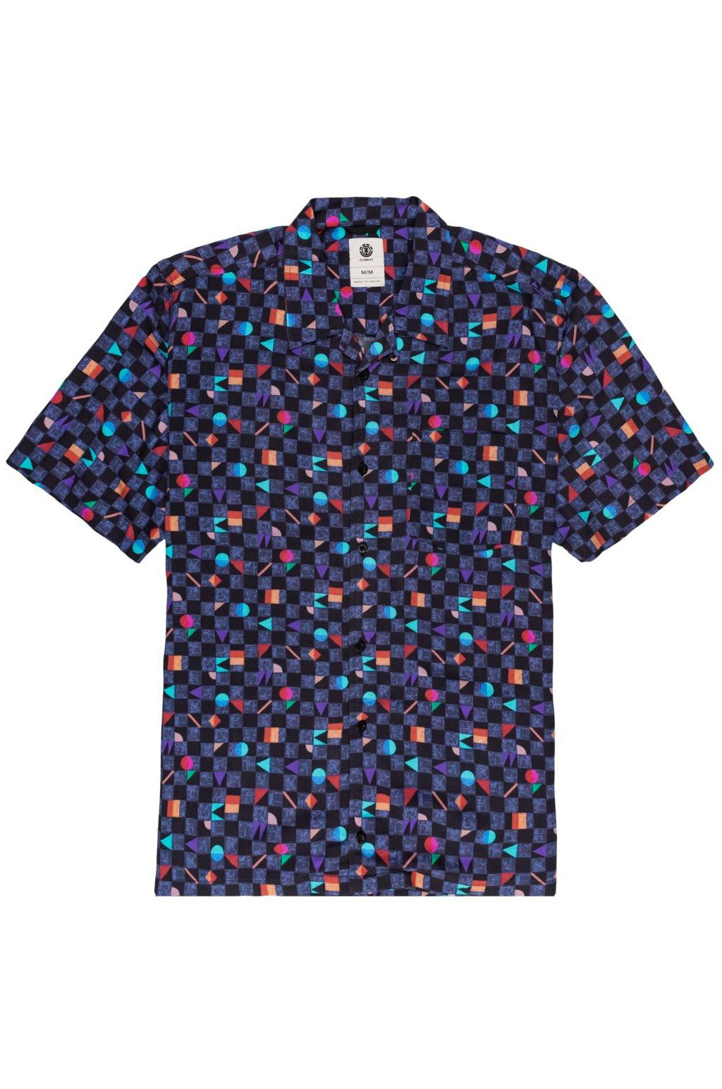 Camisa Element OUTFUN SS Blue Prism
