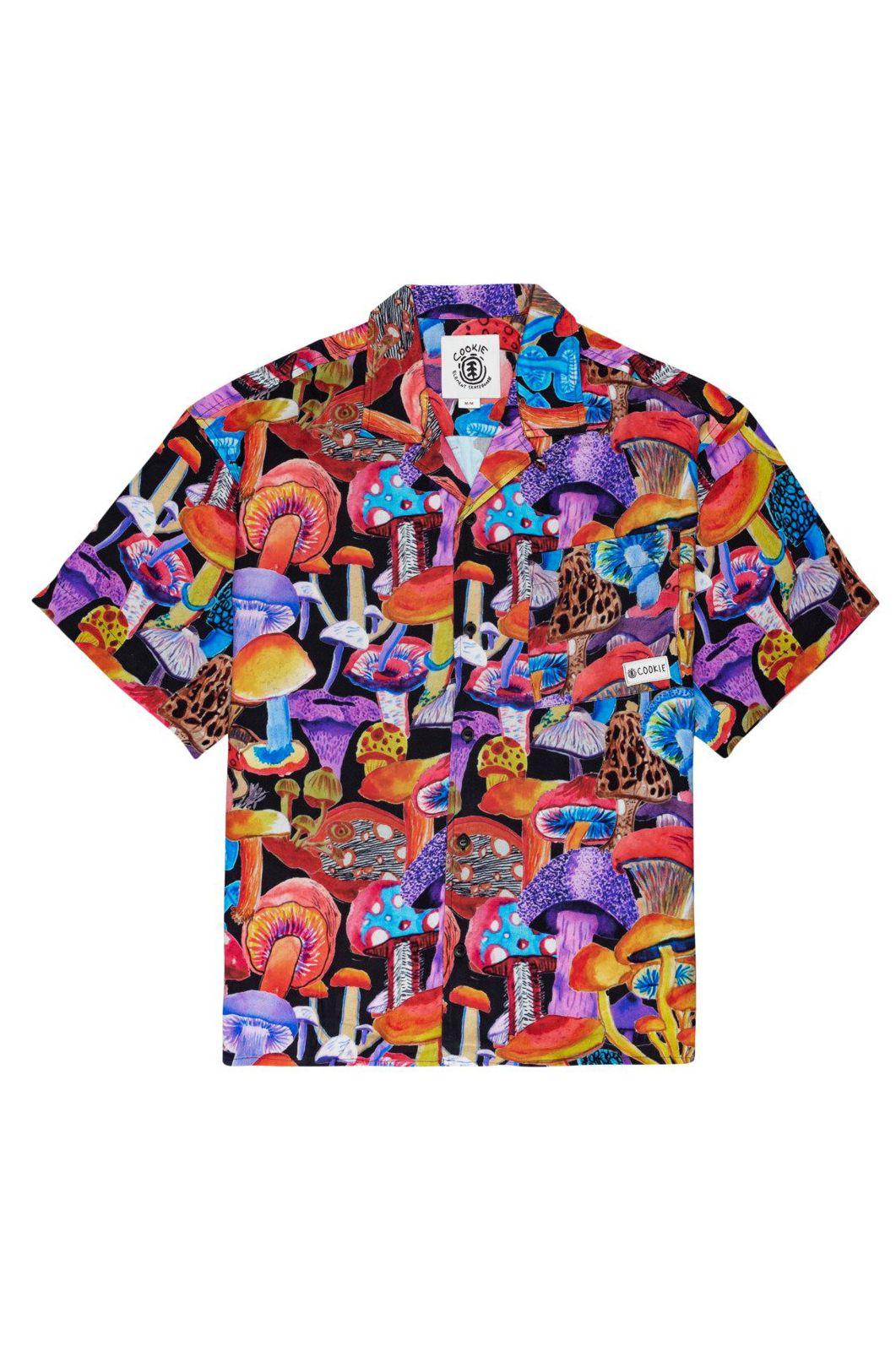 Element Shirt SHROOMS SS SHROOMS PACK Big Shrooms