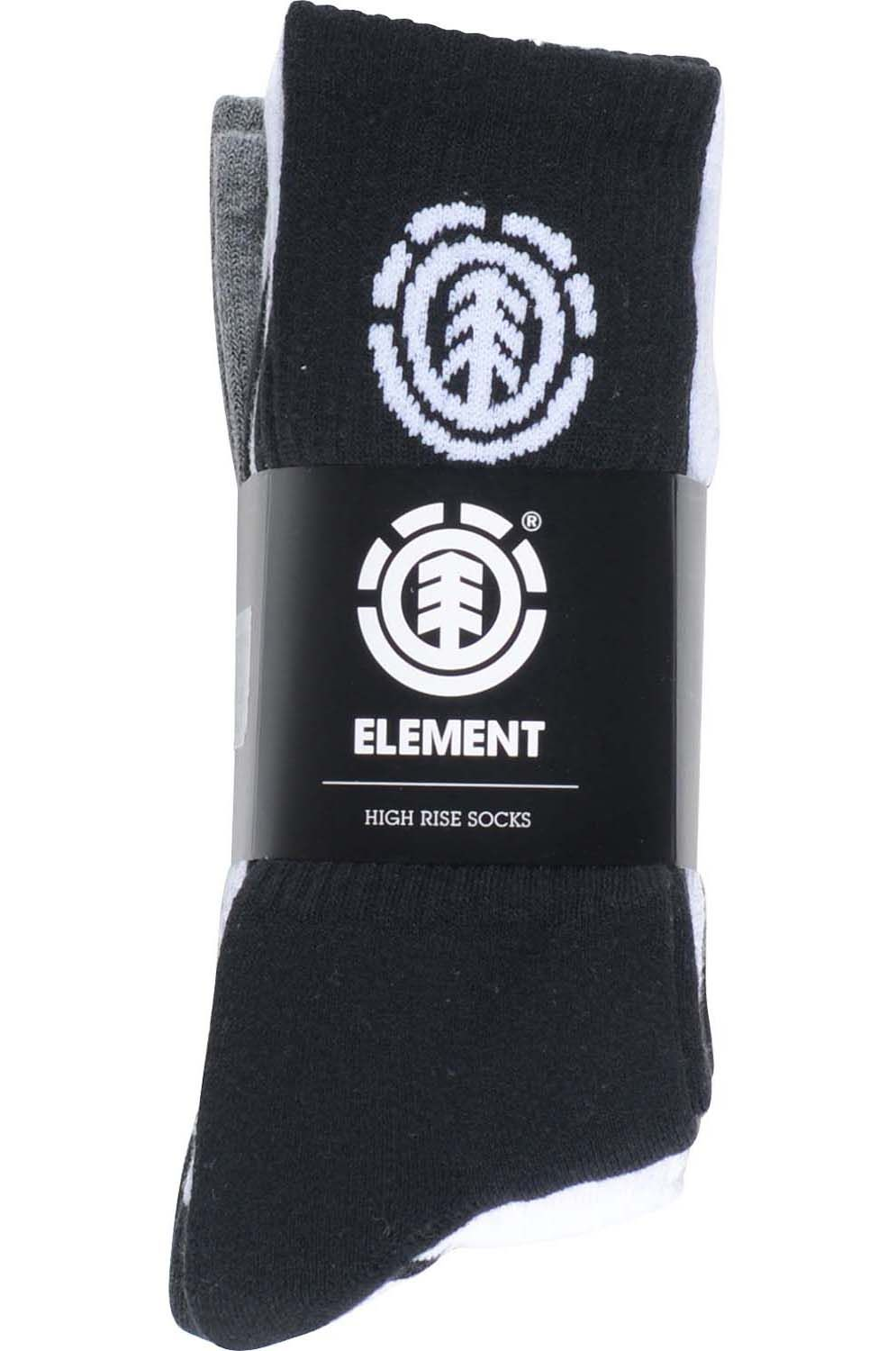 Meias Element HIGH-RISE SOCKS 5 P. Multico