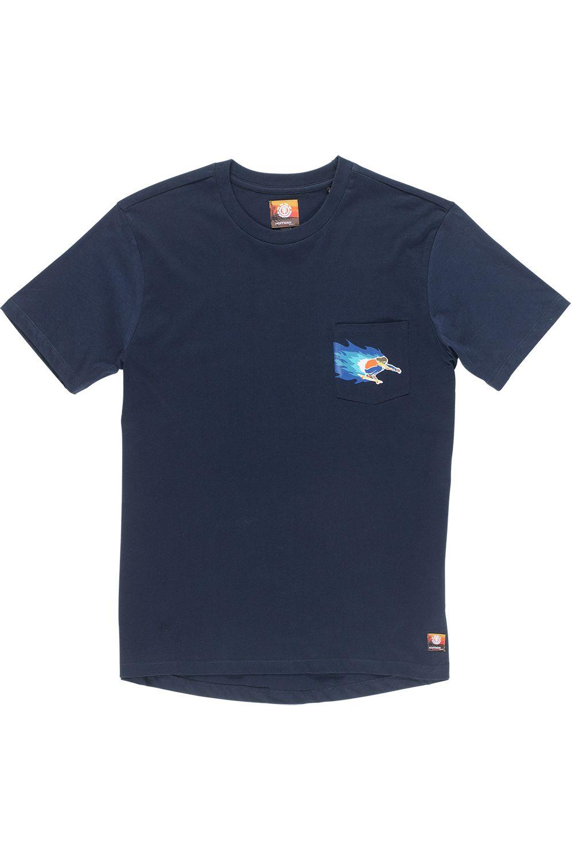 T-Shirt Element HOFFMAN PKT Eclipse Navy