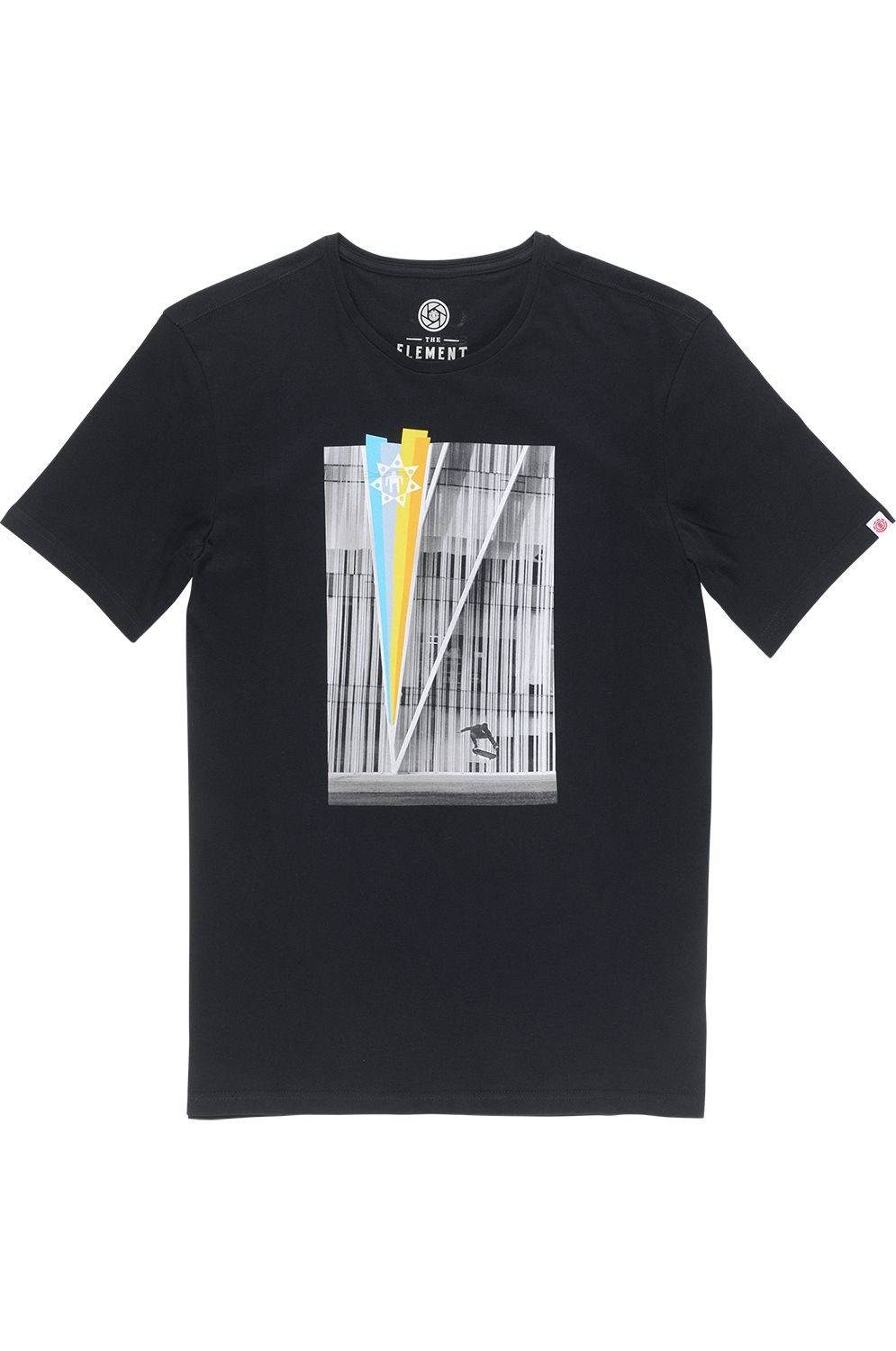 T-Shirt Element SASCHA ELEMENT PERSPECTIVE Flint Black