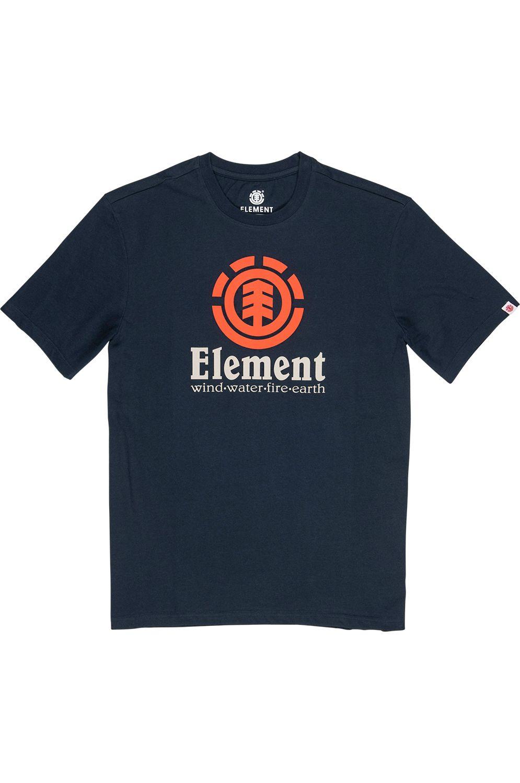 T-Shirt Element VERTICAL SS Eclipse Navy