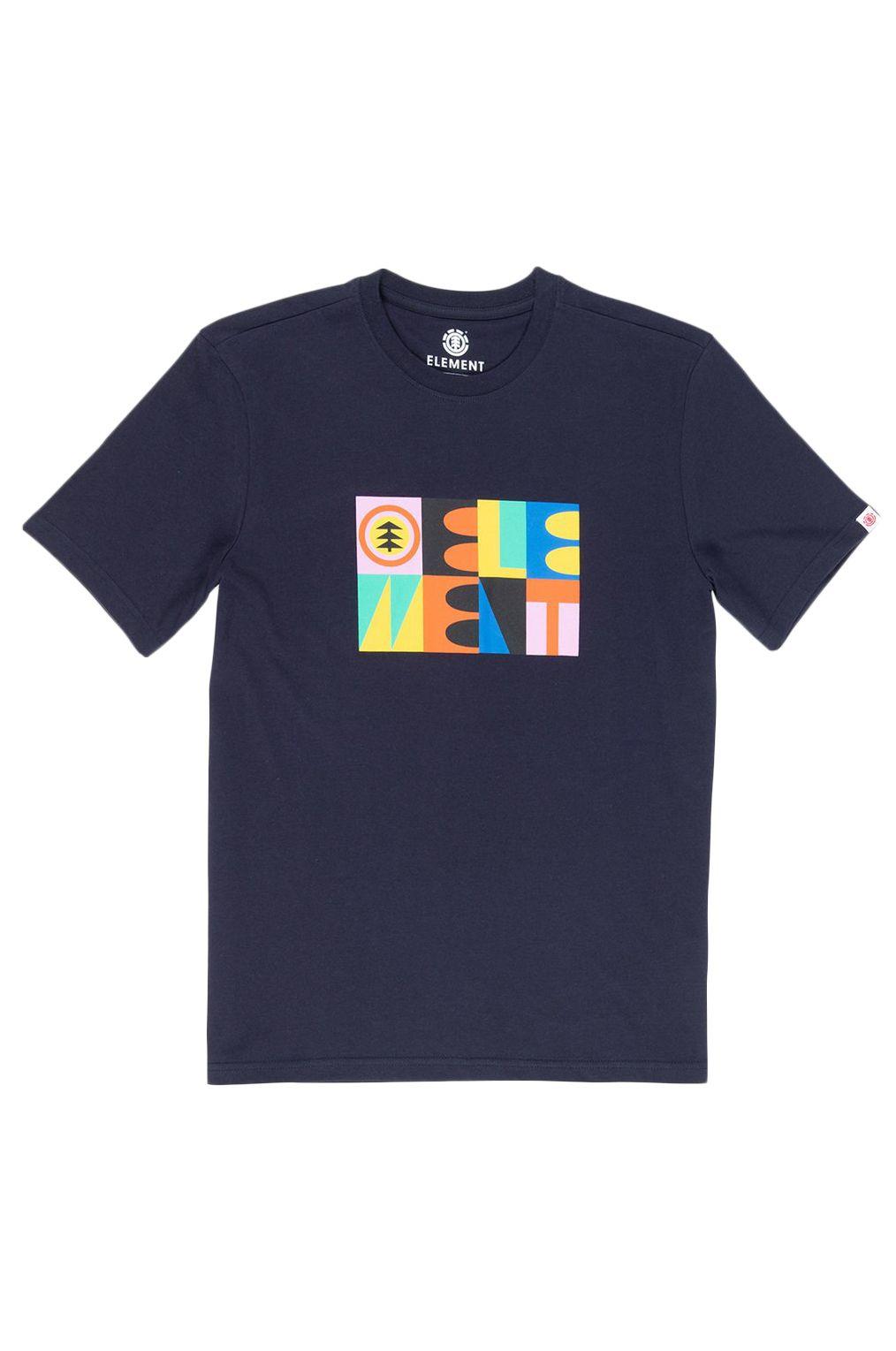 T-Shirt Element BARREN Eclipse Navy