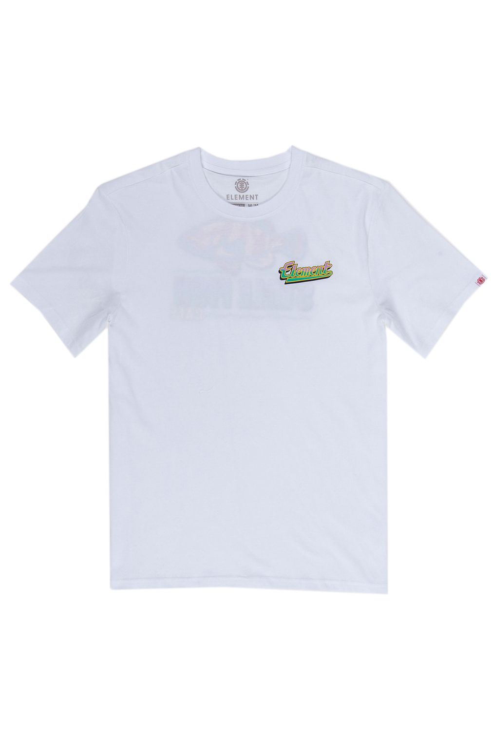 T-Shirt Element STALE FISH Optic White