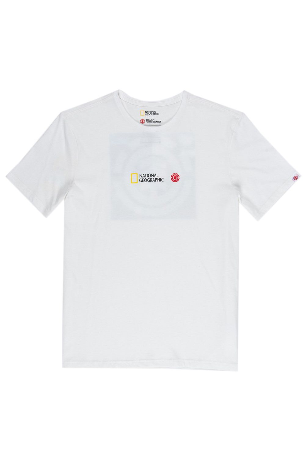 T-Shirt Element QUADRANT SEASONS NATIONAL GEOGRAPHIC Off White