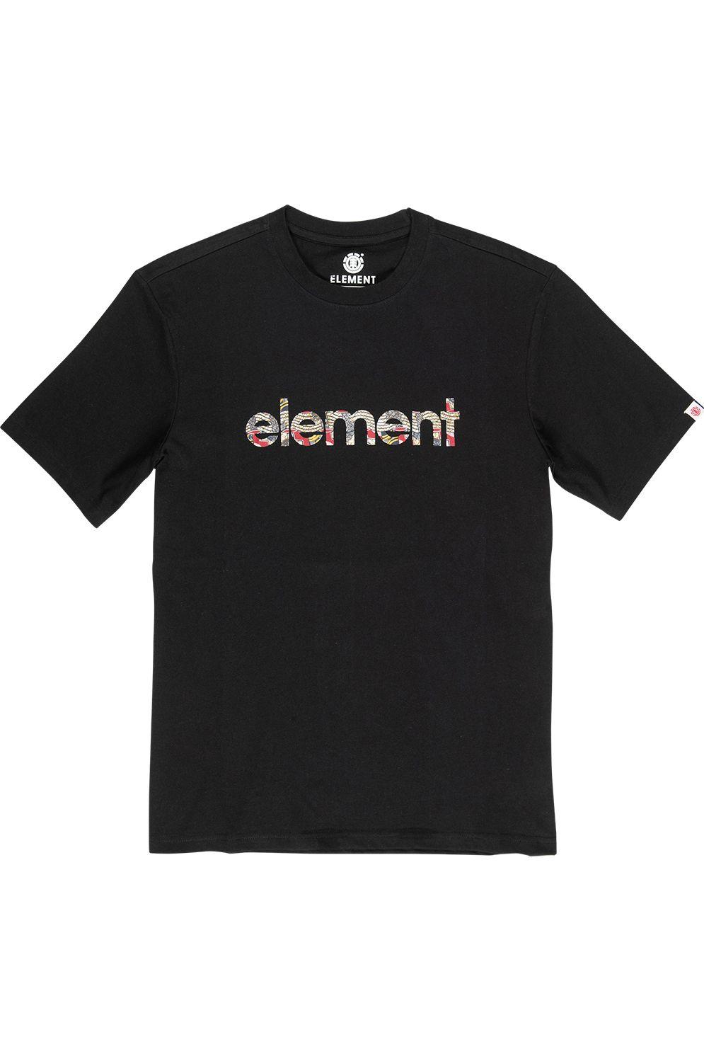 T-Shirt Element ORIGINS Flint Black