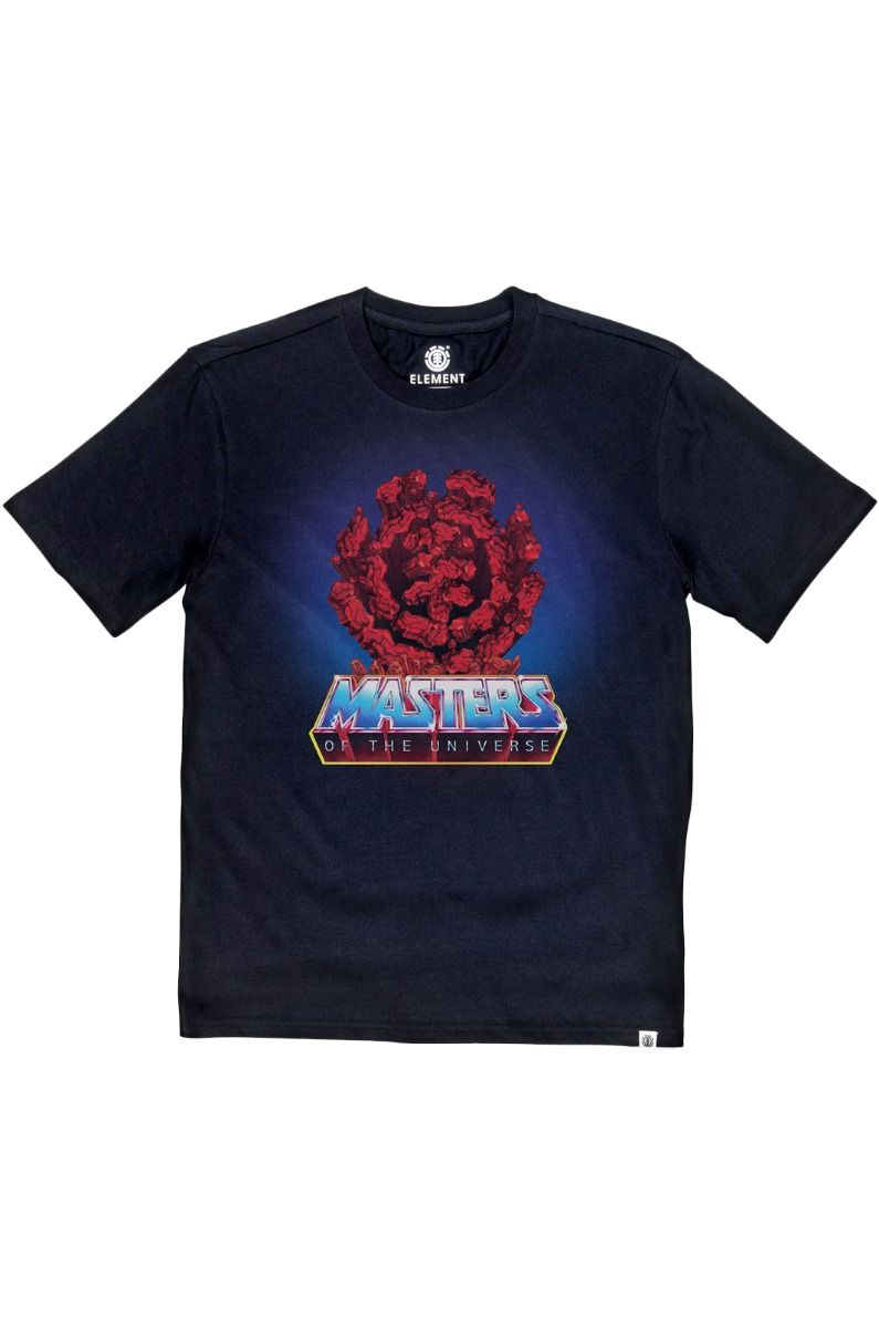 T-Shirt Element LAVA ROCKS MASTERS OF THE UNIVERSE Flint Black