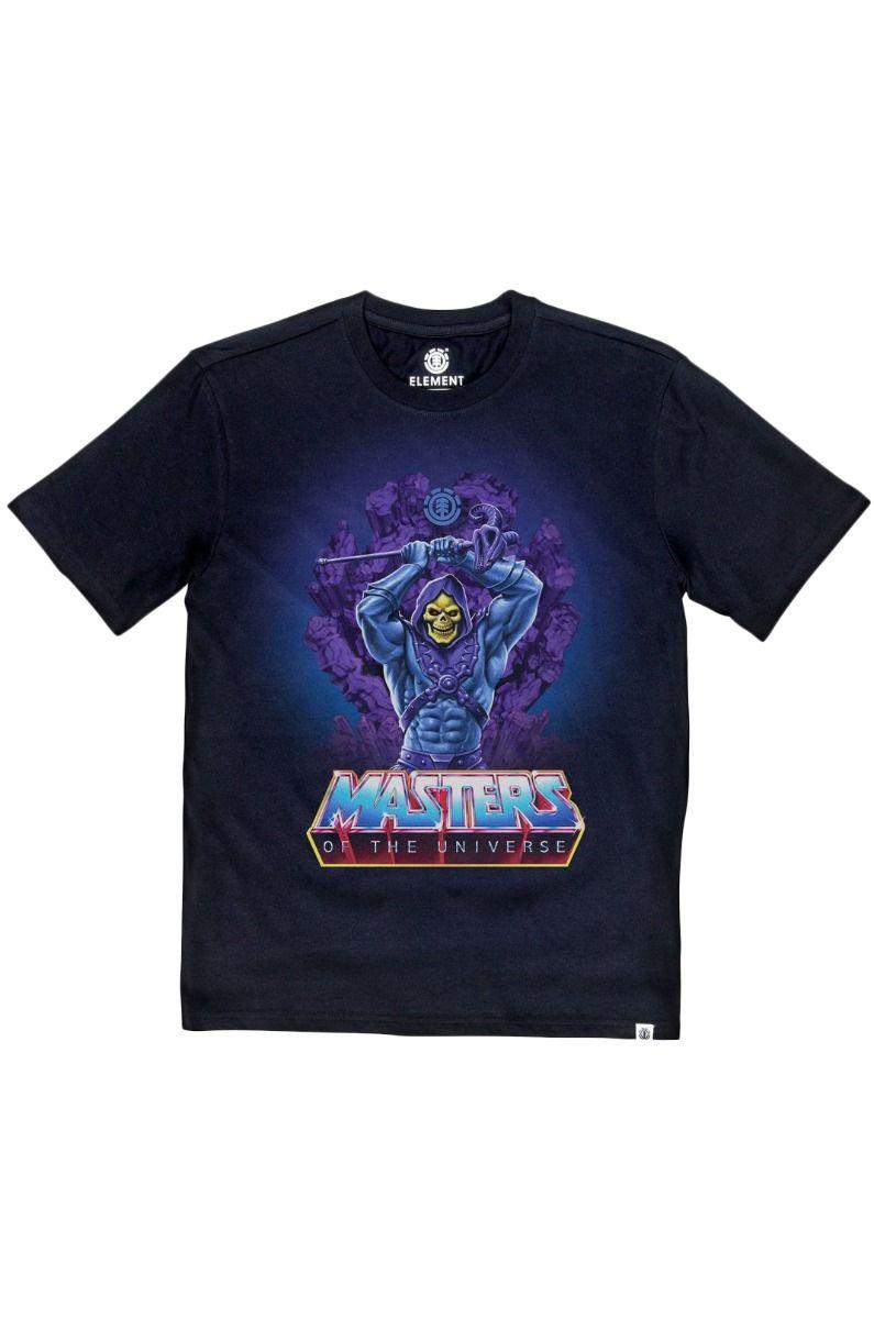 T-Shirt Element SKELETOR MASTERS OF THE UNIVERSE Flint Black