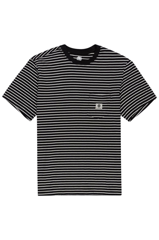 T-Shirt Element BASIC STRIPES SS Flint Black