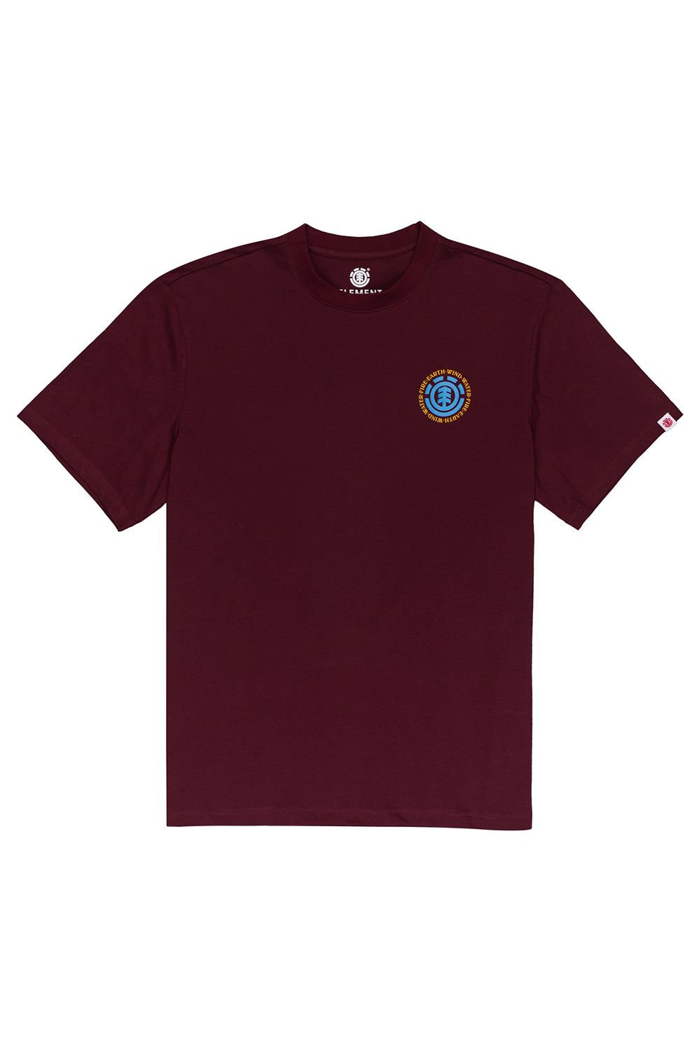 T-Shirt Element SEAL BP SS Vintage Red
