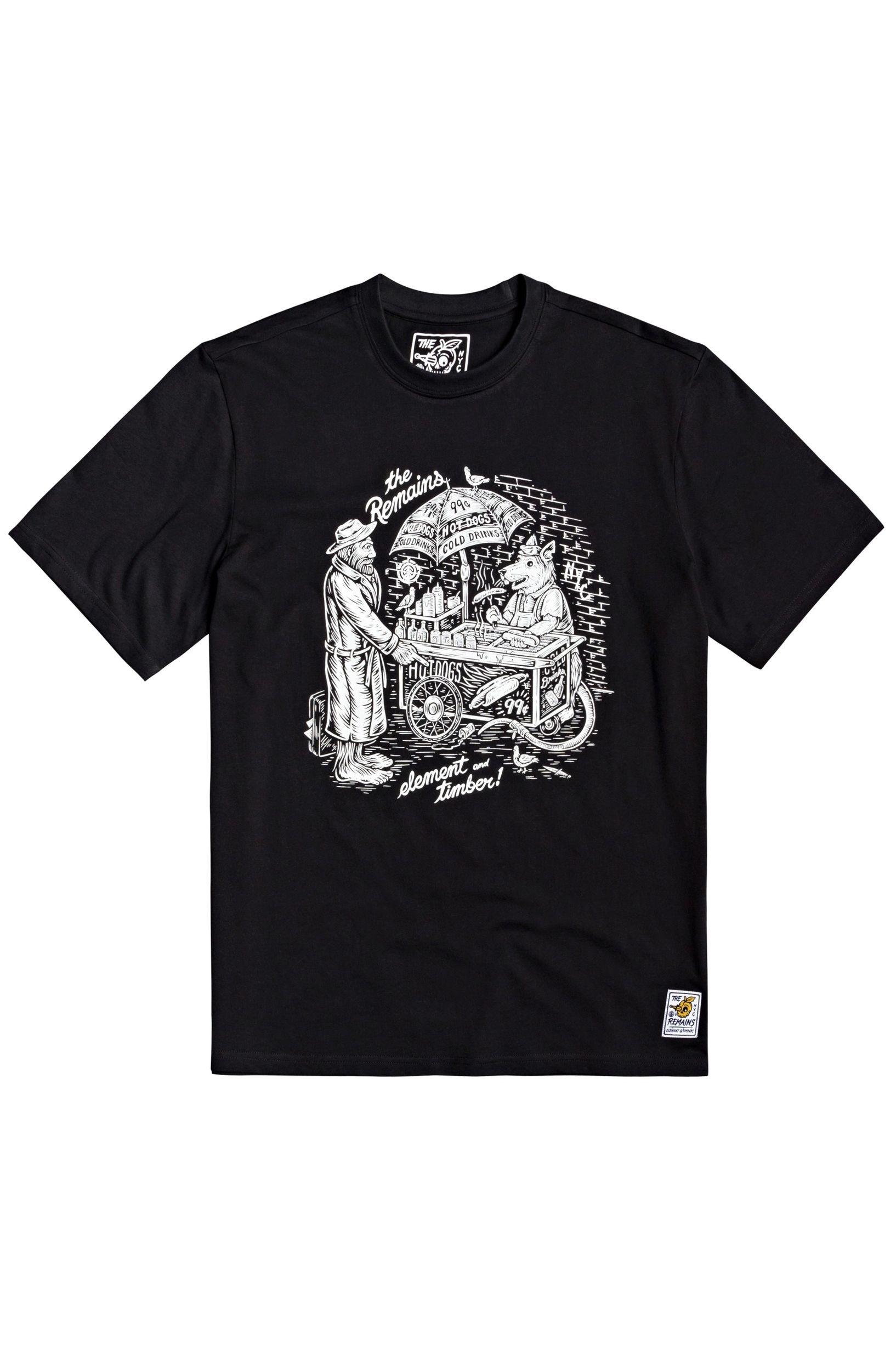 T-Shirt Element VENDOR TIMBER COLLECTION Flint Black