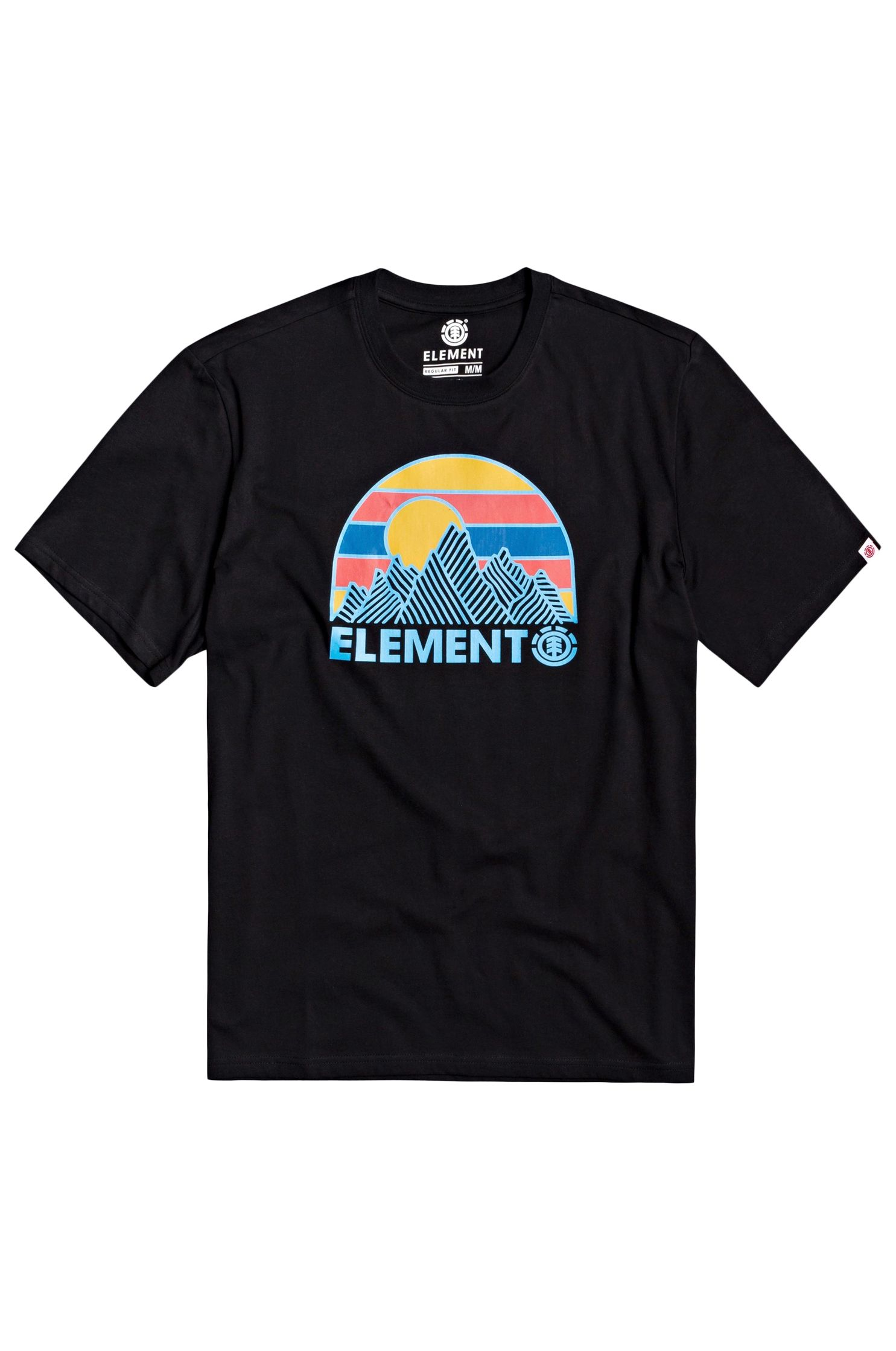 T-Shirt Element KOZY SPORTING GOOD PROGR. Flint Black