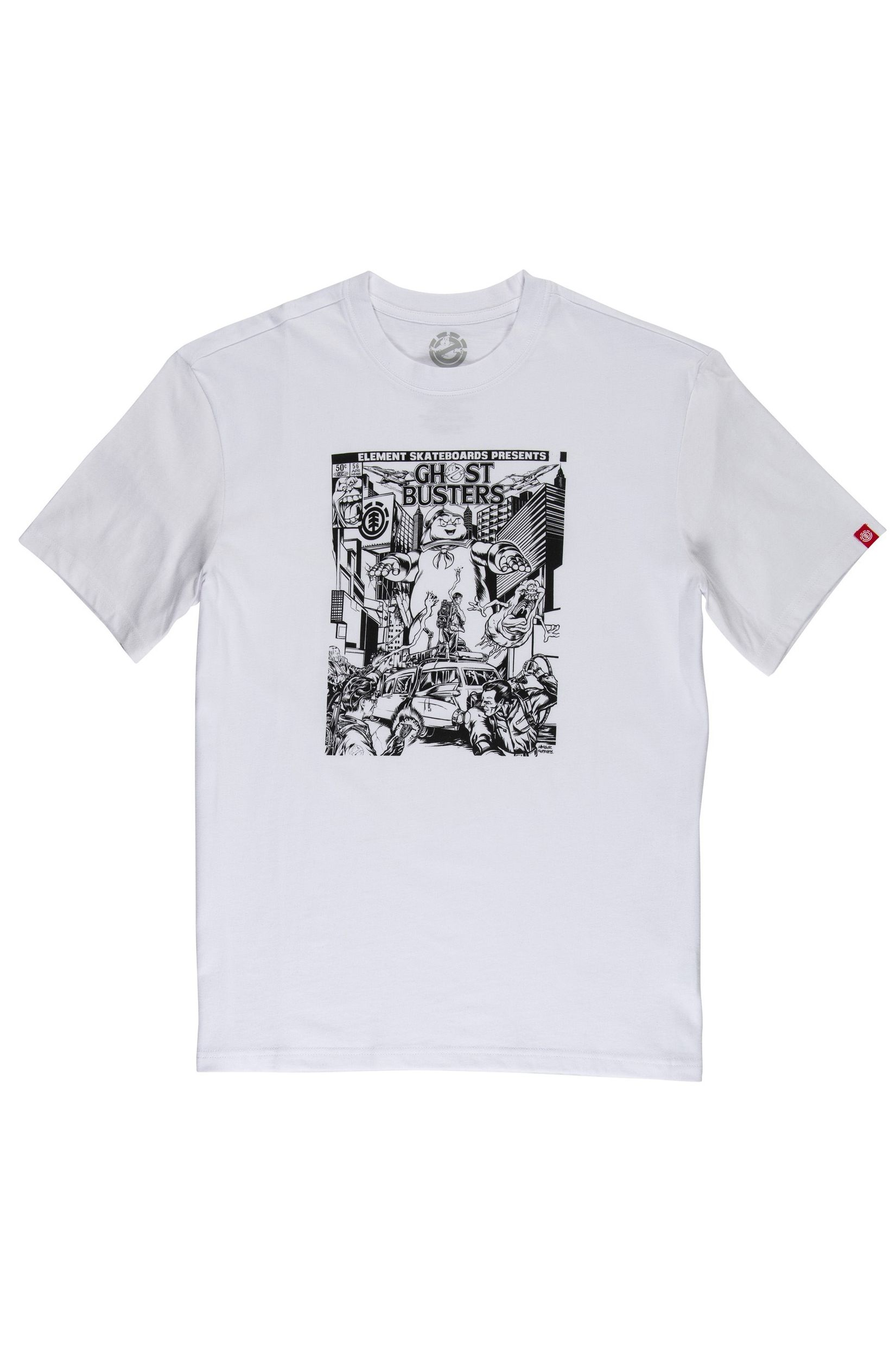 T-Shirt Element CARNAGE GHOSTBUSTERS Optic White